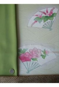 Aquarell-Blüten, mit Shibori